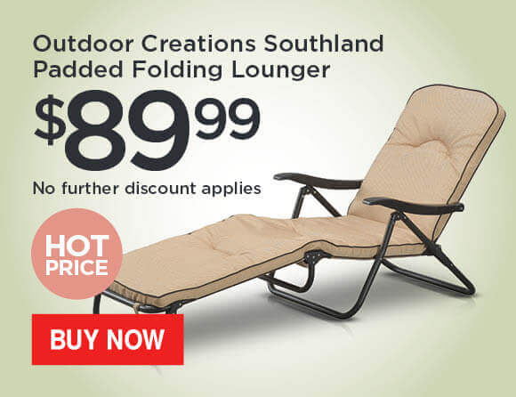 Outdoor-Creations-Southland-Steel-Padded-Folding-Lounger